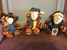 Disney set of 3 Boyds Stuffed Tiggers
