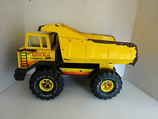 MIGHTY TONKA DUMP TRUCK Pressed Steel Construction Vehicle Vintage