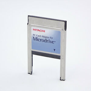 Hitachi PC Card Adapter for Microdrive        #51309