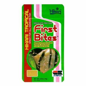 Hikari First Bites Granule .35oz For NewBorn Fish food  Free Shipping