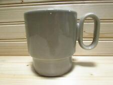 "German Gray Waechtersbach 3-1/4"" Coffee Mug Grey Tea Cup West Germany b116"