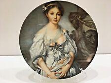 """Greuze, La Cruche Cassee, Decorative Plate Limoges France 7.25"""" D, #'d Item"""