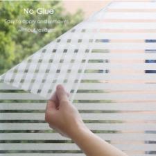 Fashion Decals Bathroom Matte Stickers Door Window Striped Glass Film