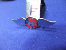 vtg badge bsa motor cycle bike wings advert advertising owner 1970s biker rocky