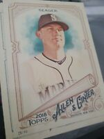KYLE SEAGER TOPPS ALLEN & GINTER 5x7 #d/49 Seattle Mariners