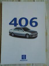 Peugeot 406 range brochure Sep 1997 Australian market