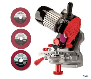 OREGON CHAINSAW CHAIN SHARPENER INCLUDES ALL 3 GRINDING WHEEL TO 404 3/8 .325