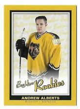 2005-06 Upper Deck BeeHive Yellow Rookie Card #143 Andrew Alberts