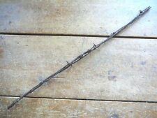 GLIDDEN 2-PT FOUR LINE - 4 GAUGES - FACTORY SPLICE - ANTIQUE BARB BARBED WIRE
