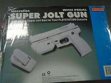 BLACK Innovation Guncon Playstation Jolt Light Gun Kickback Foot Pedal AIMTRAK