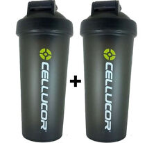 2x Cellucor Shaker Bottles Protein Mixer Cup SALE