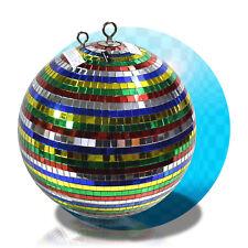Diskokugel Spiegelkugel Discokugel 30cm DJ Party Multicolor Partylicht +2te. Öse
