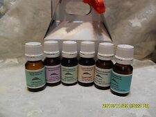 Kit of SIX Pure Essential Oils + TWO Carrier Oils  10ml Each in Kit Gift Box