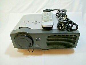 Optoma EP739 DLP SVGA Video Projector Tested Working With Remote!