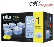 """Braun CCR3 Clean And Renew Men Shaver Hygienic Cleaning Refill Cartridge""""6 Pack"""""""