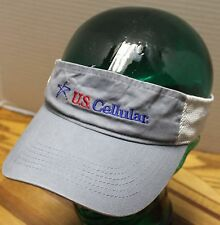 U.S. CELLULAR GRAY VISOR ADJUSTABLE IN VERY GOOD CONDITION