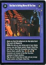 Star Wars CCG Enhanced Cloud City This Deal Is Getting Worse / Prey?