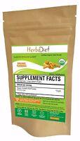 Turmeric Organic Root Powder 100% PURE Curcuma Longa Non-GMO Spice w/- Curcumin