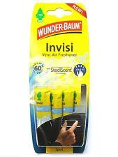 (1,75€/Einheit) 4-teilig WUNDER-BAUM® Invisi Sport Vent Lufterfrischer Fresh