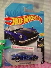 CUSTOM DATSUN 240Z #15✰blue/gray; st8✰ NIGHTBURNERZ✰2018 i Hot Wheels CASE A/B