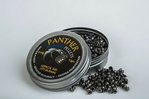 AirForceOnetm PANTHER Smooth Pointed air rifle, pistol ammo pellets.177 (500)