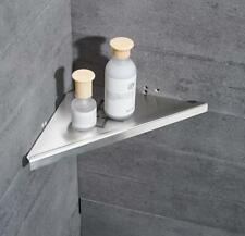 Triangular Shower Caddy Storage Shelf Stainless Steel Brushed Nickel Wall Mount