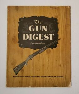 The Gun Digest 2nd Annual Edition 1946 Klein's Sporting Goods