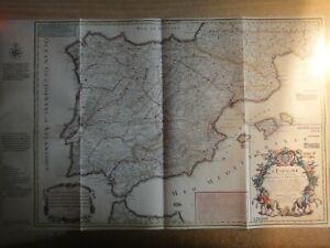 España H.B.300 aniversario. del 1º mapa postal de España, año 2021 ver foto