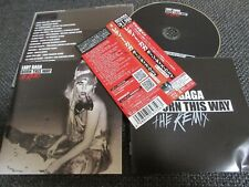 LADY GAGA / born this way the remix  /JAPAN LTD CD OBI