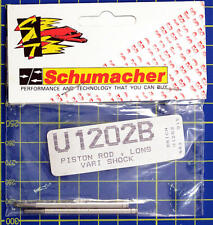 Schumacher Piston Rod Long Shock U1202B modellismo