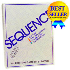 Game Sequence Jax Strategy Board New Complete 1995 Sealed Exciting Edition Ltd