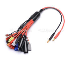 RC Multifunctional Lipo Battery Multi Charger Plug Convert Cable 19 in 1