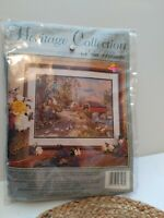 Heritage Collection By Elsa Williams Needlepoint Kit Franklin Corner