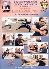 Serrada Escrima Escrima Seminar Queen Mary 2015 - 2 DVD Box Kali Arnis Eskrima