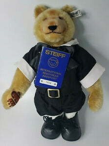 Steiff Dicky Bear 1930 Teddy Bear 1985 Limited Edition 0172/32 w/Tag Button U46