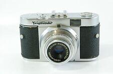 Vintage Visor Cámara Voigtländer Vito B con Skopar 50mm 3.5 Ref.122162