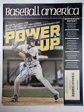 Kris Bryant Autographed Baseball America Magazine Chicago Cubs