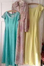 3 1960s Vintage Susan Small Evening Dresses Size 12