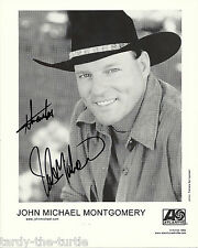 """John Michael Montgomery 8"""" x 10"""" Autographed Promotional Picture"""