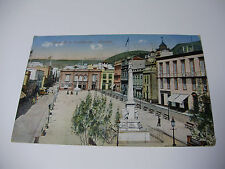 Lot12v - 1915 TENERIFE Plaza de la Constitucion - Early Canary Islands POSTCARD