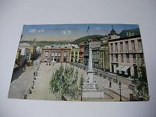 Lot12v - 1915 TENERIFE Plaza de la Constitucion - Early Canary Islands POSTCARD