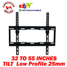 "32-55"" LCD PLASMA LED TV TILT WALL MOUNT BRACKET SLIM 36 37 39 40 41 46 47 50 51"