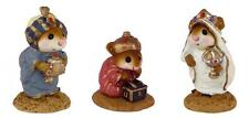 Wee Forest Folk M-121a/b/c Wise Men - Set of 3