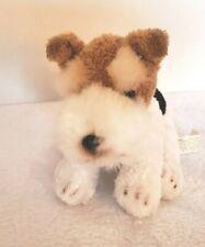 "Fox Terrier Plush Dog Yomiko Classics Russ 6"""