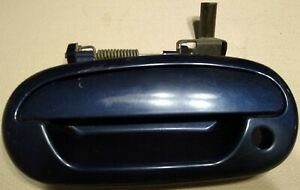 1997 to 2003 Ford F150 Driver Side Door Handle Exterior Blue LH Left