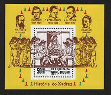 OPC 1983 Guinea Bissau Chess Souvenir Sheet Sc#480 MNH 33437