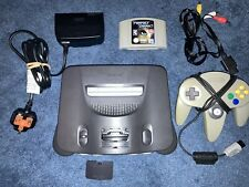 Nintendo 64/N64 Console Bundle With Perfect Dark - Tested - PAL