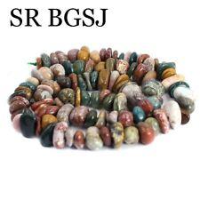 "Jewelry DIY Natural Freeform Chips Ocean Jasper Gemstone Beads Strand 15""9-10mm"