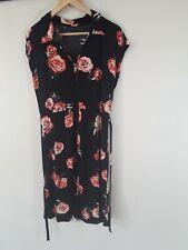 Bodyflirt Jerseykleid mit Blumenmuster, Gr. 40/42