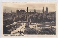 AK Stuttgart, Schlossplatz mit altem Schloss, 1940
